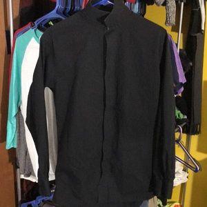 JF J.Ferrar Dress Shirt - Medium 15-15.5 32/33